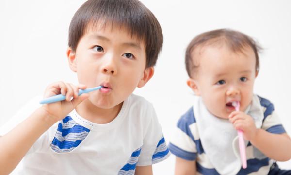 歯磨き・男の子